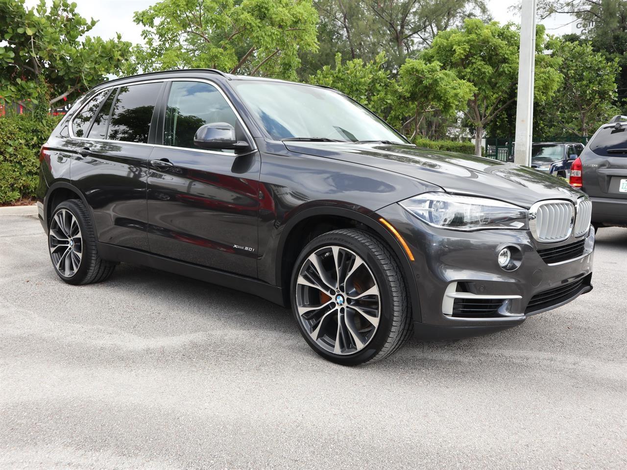 2014 BMW X5 AWD 4dr xDrive50i 5249 miles 2 Seatback Storage Pockets 4 12V DC Power Outlets LEATH