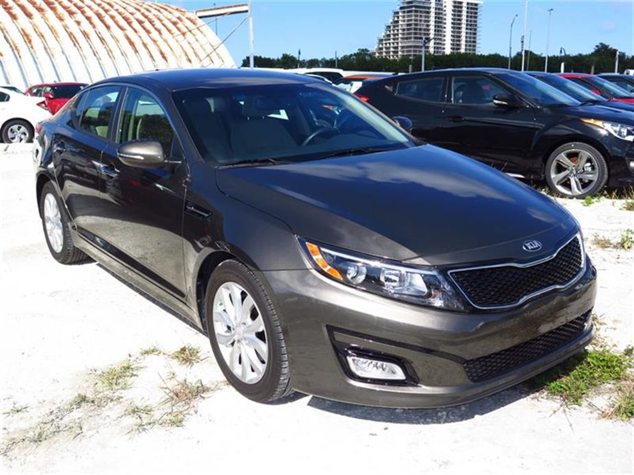 2014 KIA OPTIMA 4dr Sdn EX 9314 miles 2 12V DC Power Outlets 2 Seatback Storage Pockets 4-Way P