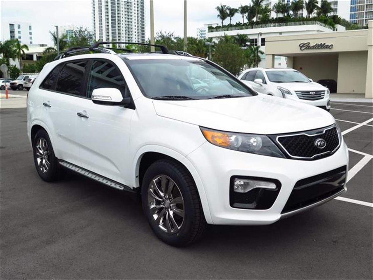 2012 KIA SORENTO 2WD 4dr V6 SX 42656 miles VIN 5XYKW4A21CG307254