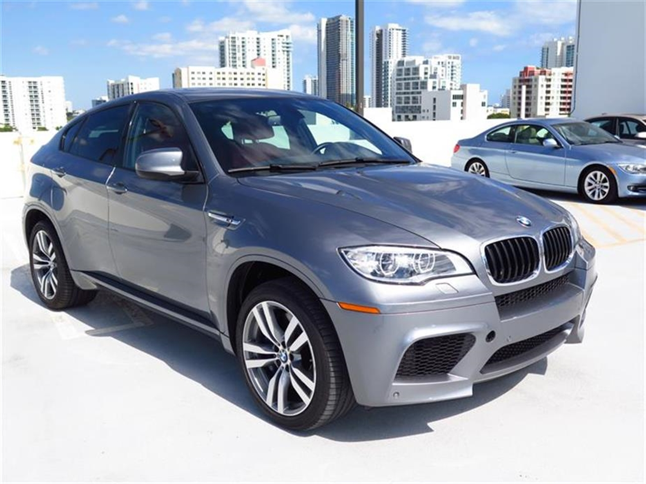 2013 BMW X6 M AWD 4dr 20891 miles 20-way power multi-contour front buckets seats -inc standard 1