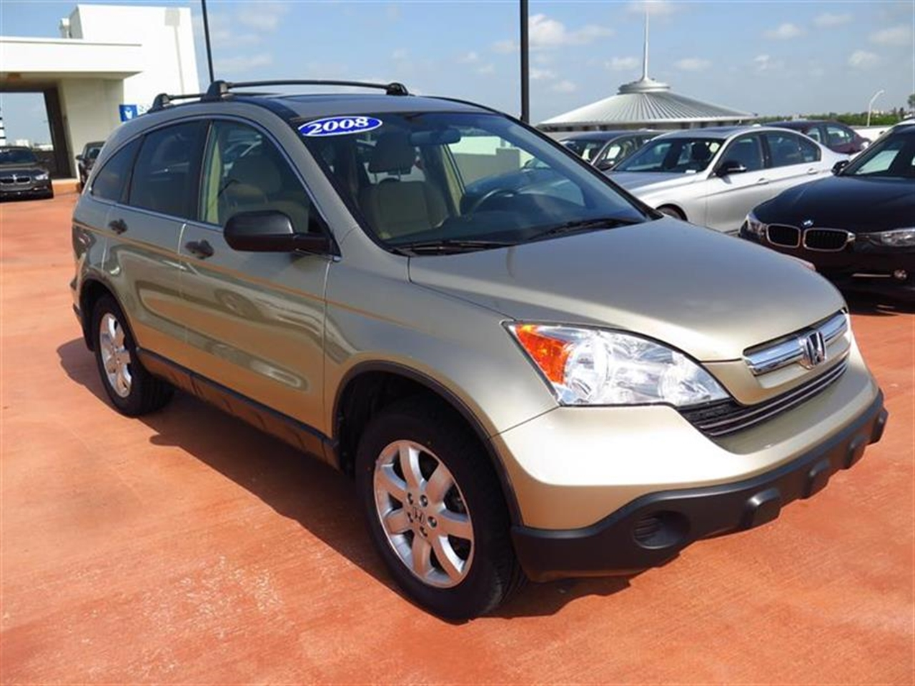 2008 HOND CRV 2WD 5dr EX 61991 miles 4 cargo area tie-down anchors 8 front  rear beverage ho