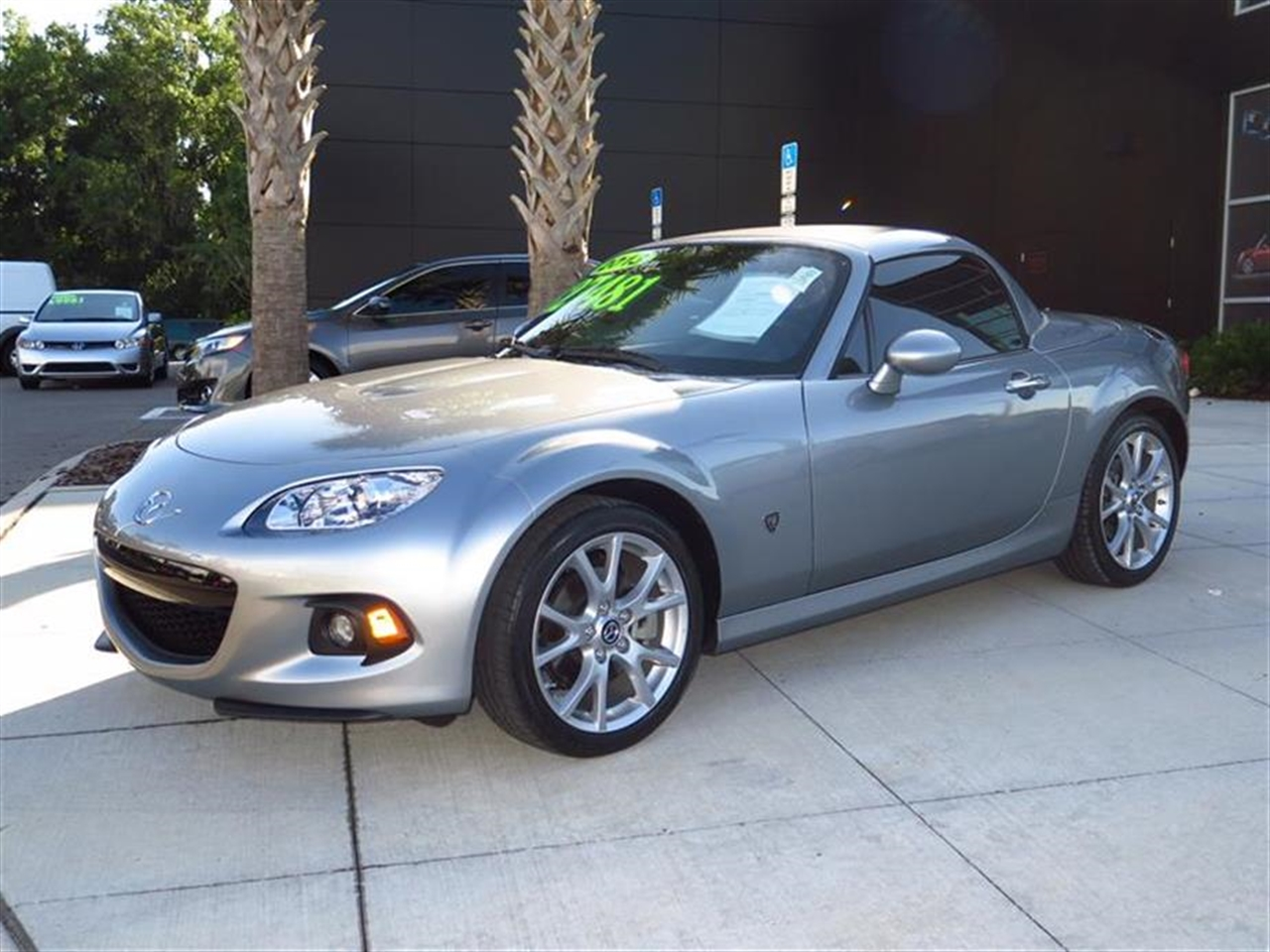 2013 MAZDA MX-5 MIATA 2dr Conv Hard Top Man Grand Touring 3392 miles 2 cup holders 12V pwr outl