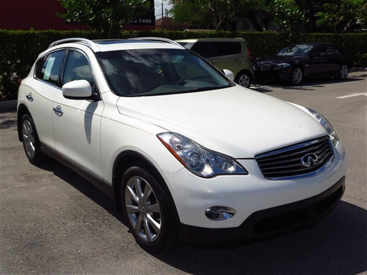 2008 INFINITI EX35 RWD 4dr Journey 40976 miles 2 auxiliary 12V pwr outlets 2 front console c