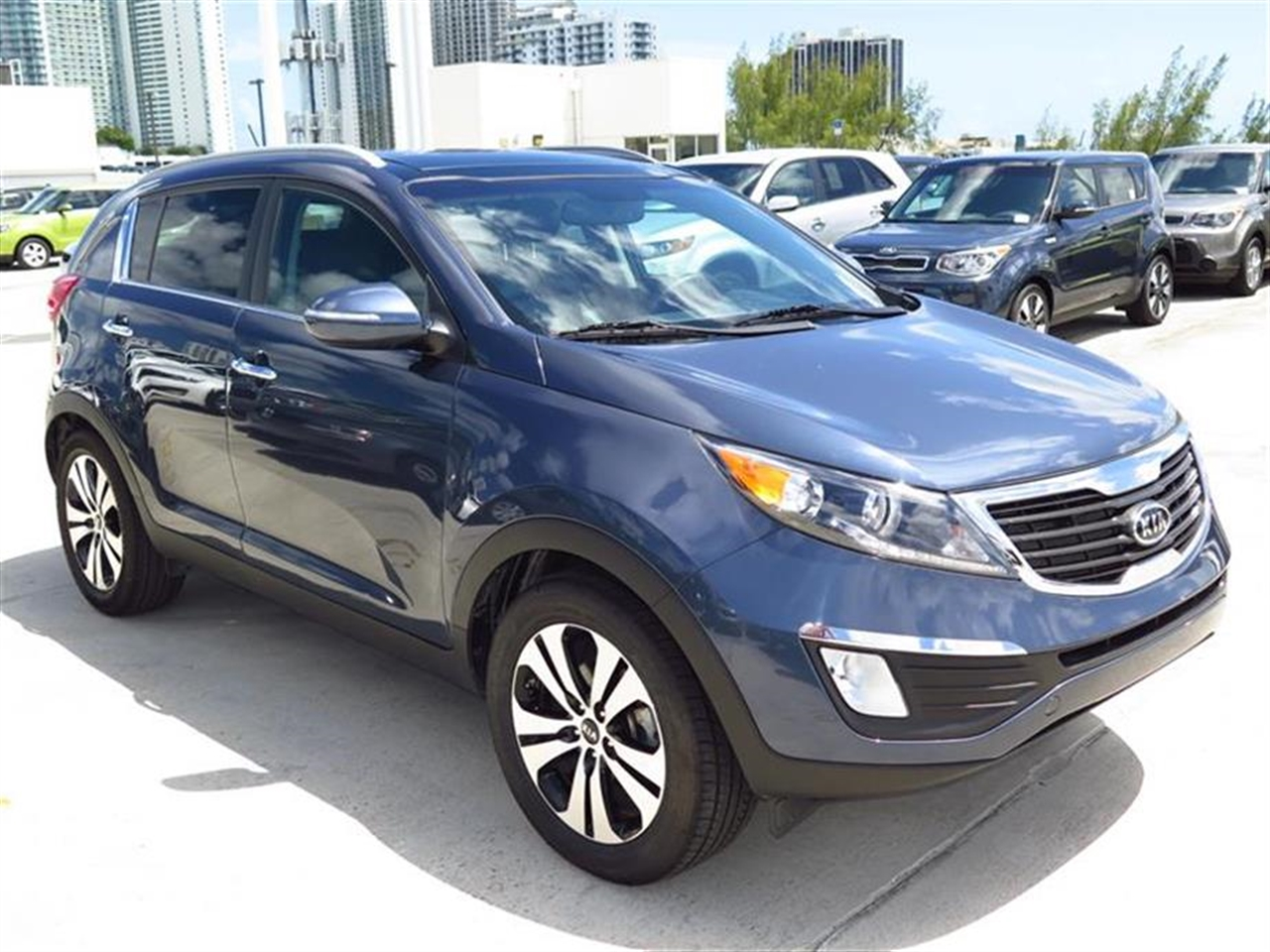 2012 KIA SPORTAGE 2WD 4dr EX 35651 miles 12V pwr outlets -inc 2 front1 rear 6040 split-fo