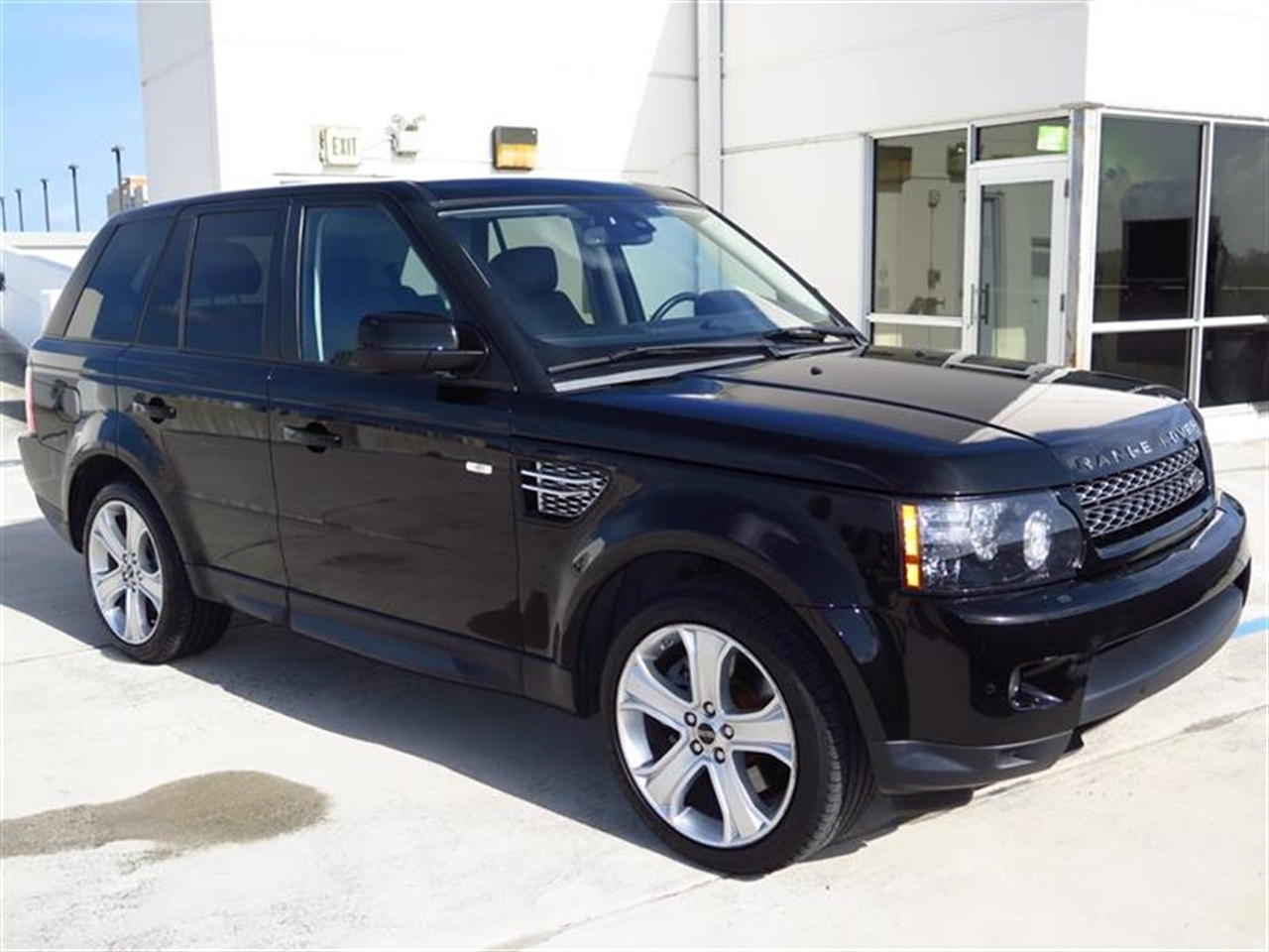 2012 LAND ROVER RANGE ROVER SPORT 4WD 4dr HSE LUX 43002 miles 6535 split folding heated rear seat