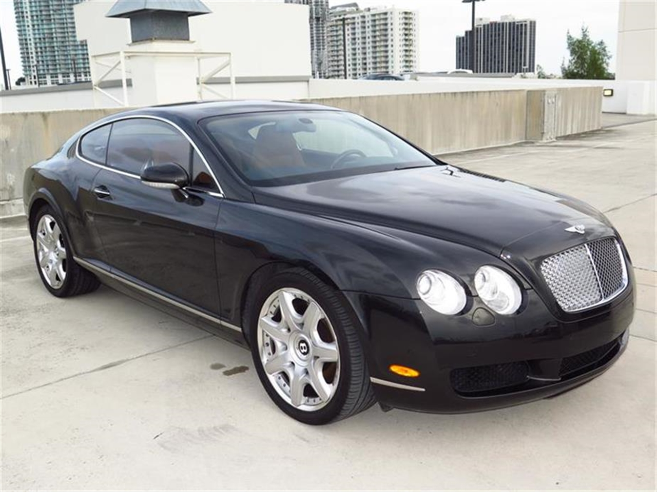 2006 BENTLEY CONTINENTAL GT 2dr Cpe 34343 miles 3-position memory facility-inc driver  passenger