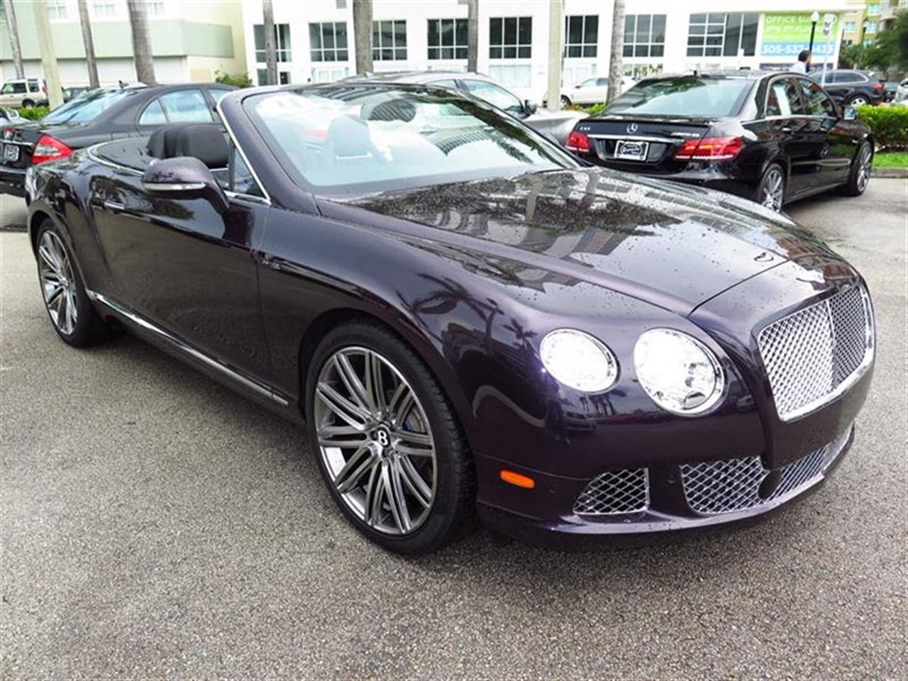 2014 BENTLEY CONTINENTAL GT SPEED 2dr Conv 1887 miles 10-Way Power Driver Seat -inc Power Reclin