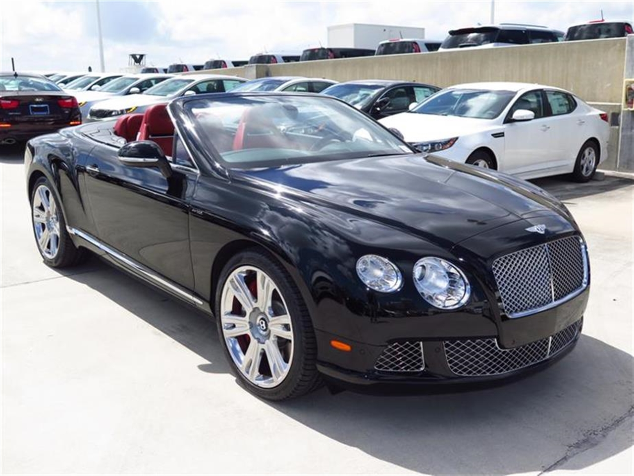 2015 BENTLEY CONTINENTAL GTC 2dr Conv 273 miles 10-Way Power Driver Seat -inc Power Recline Hei