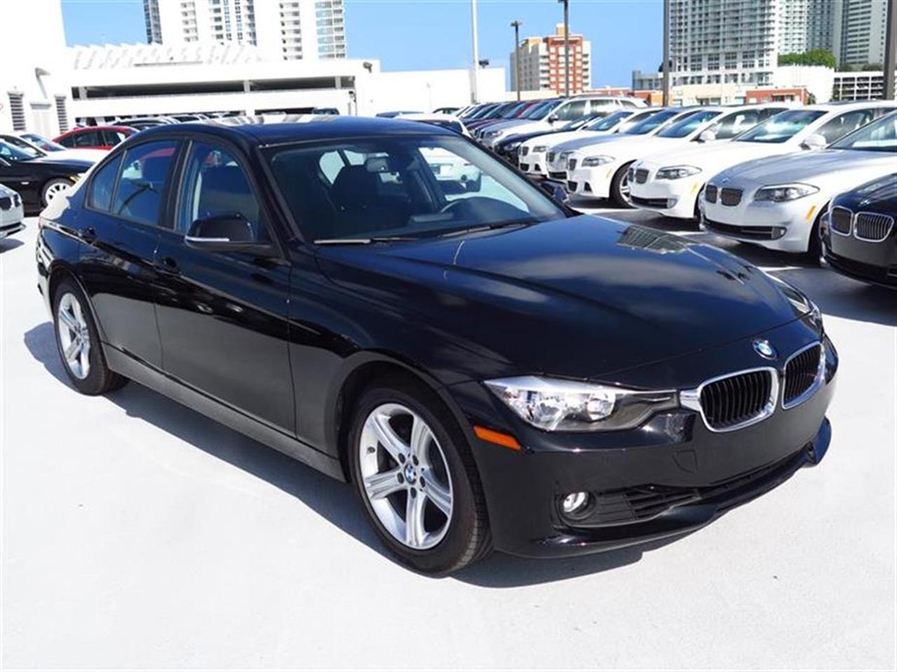 2014 BMW 3 SERIES 4dr Sdn 328i RWD 8794 miles 2 Seatback Storage Pockets 4 12V DC Power Outlets