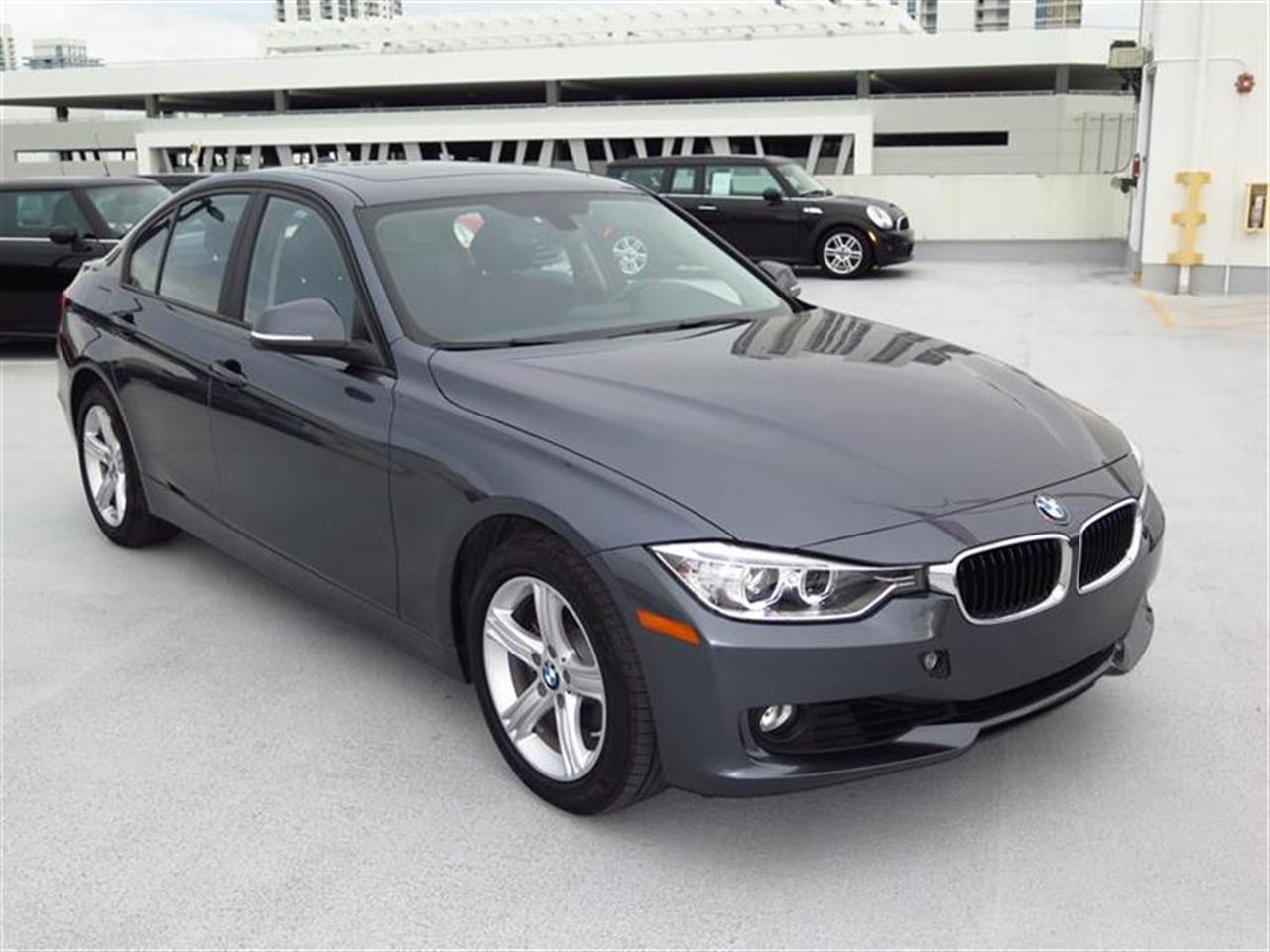2014 BMW 3 SERIES 4dr Sdn 328i RWD 8773 miles 2 Seatback Storage Pockets 4 12V DC Power Outlets