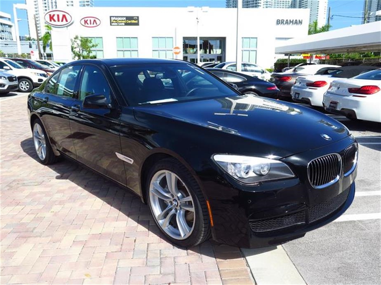 2012 BMW 7 SERIES 4dr Sdn 740i RWD 15898 miles 4-zone automatic climate control -inc draft-free v