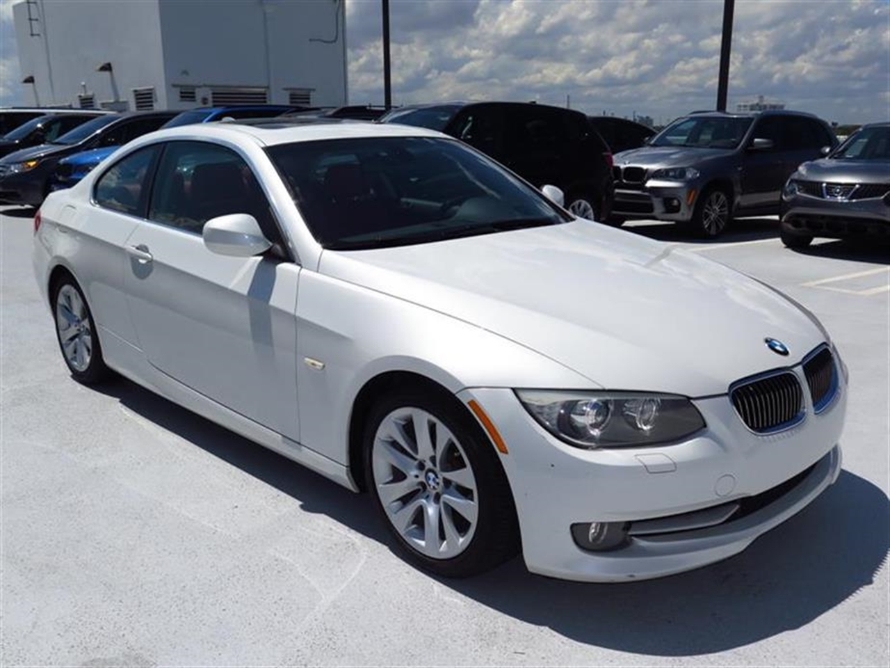 2012 BMW 3 SERIES 2dr Cpe 328i RWD 35870 miles 3-spoke leather-wrapped multi-function sport steer
