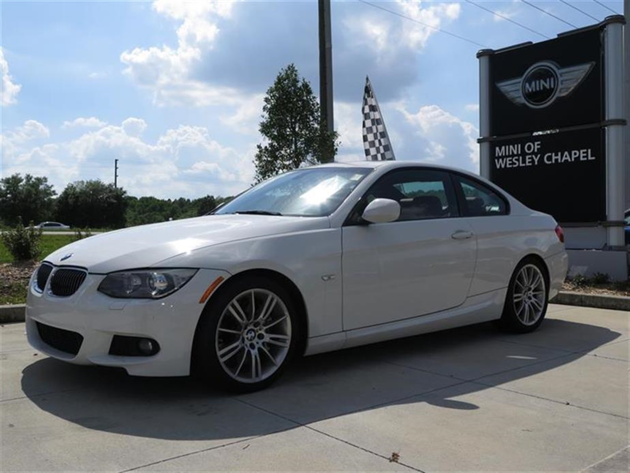 2012 BMW 3 SERIES 2dr Cpe 335i RWD 16136 miles 3-spoke leather-wrapped multi-function sport steeri