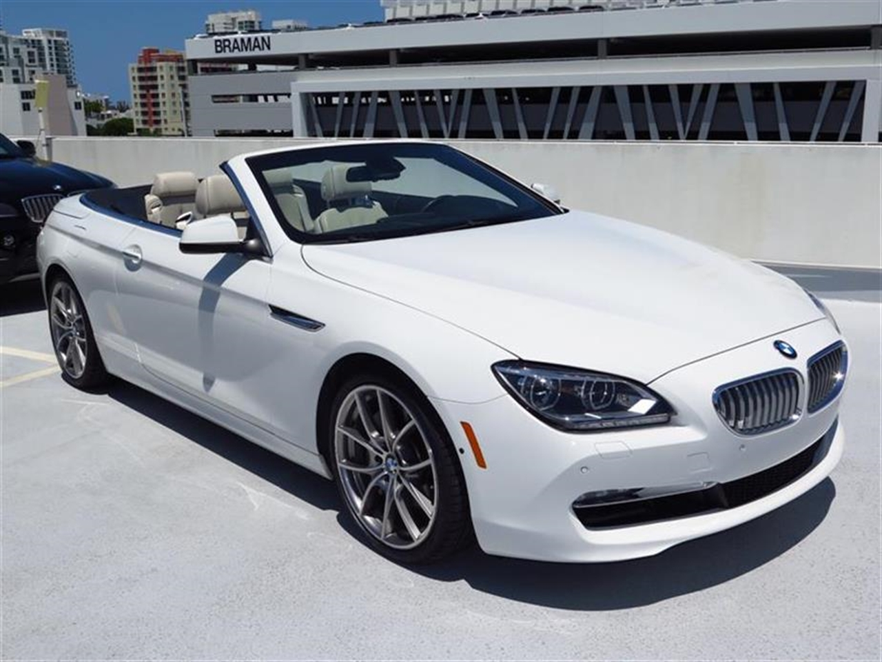 2012 BMW 6 SERIES 2dr Conv 650i 14784 miles Ambiance interior lighting Anti-theft alarm system -