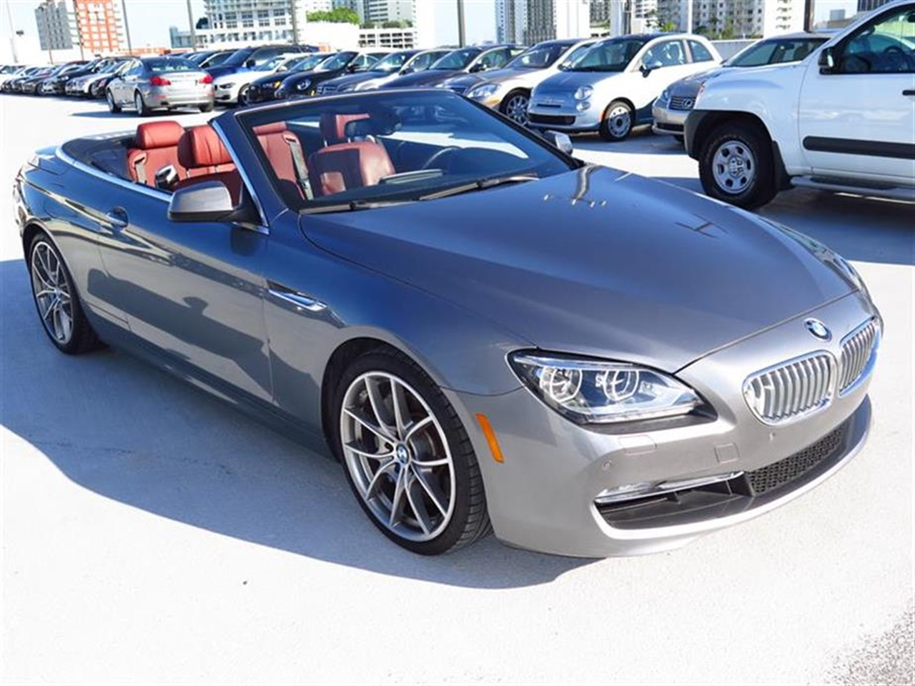 2012 BMW 6 SERIES 2dr Conv 650i 13879 miles Ambiance interior lighting Anti-theft alarm system -i