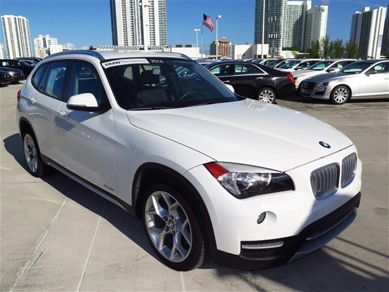2014 BMW X1 RWD 4dr sDrive28i 10063 miles 2 Seatback Storage Pockets 3 12V DC Power Outlets LEA