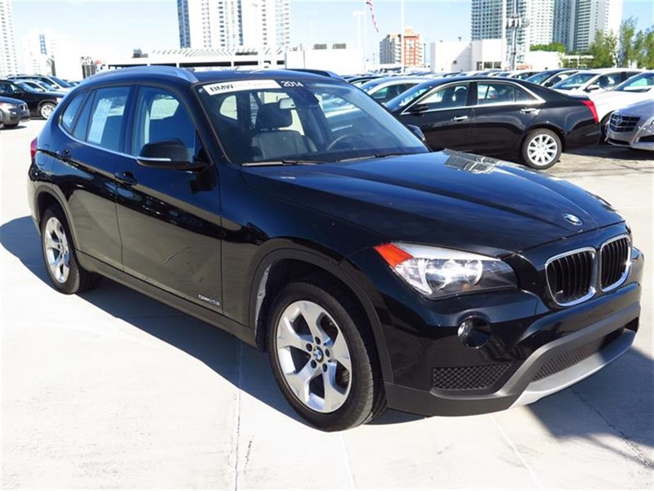 2014 BMW X1 RWD 4dr sDrive28i 11215 miles 2 Seatback Storage Pockets 3 12V DC Power Outlets LEA