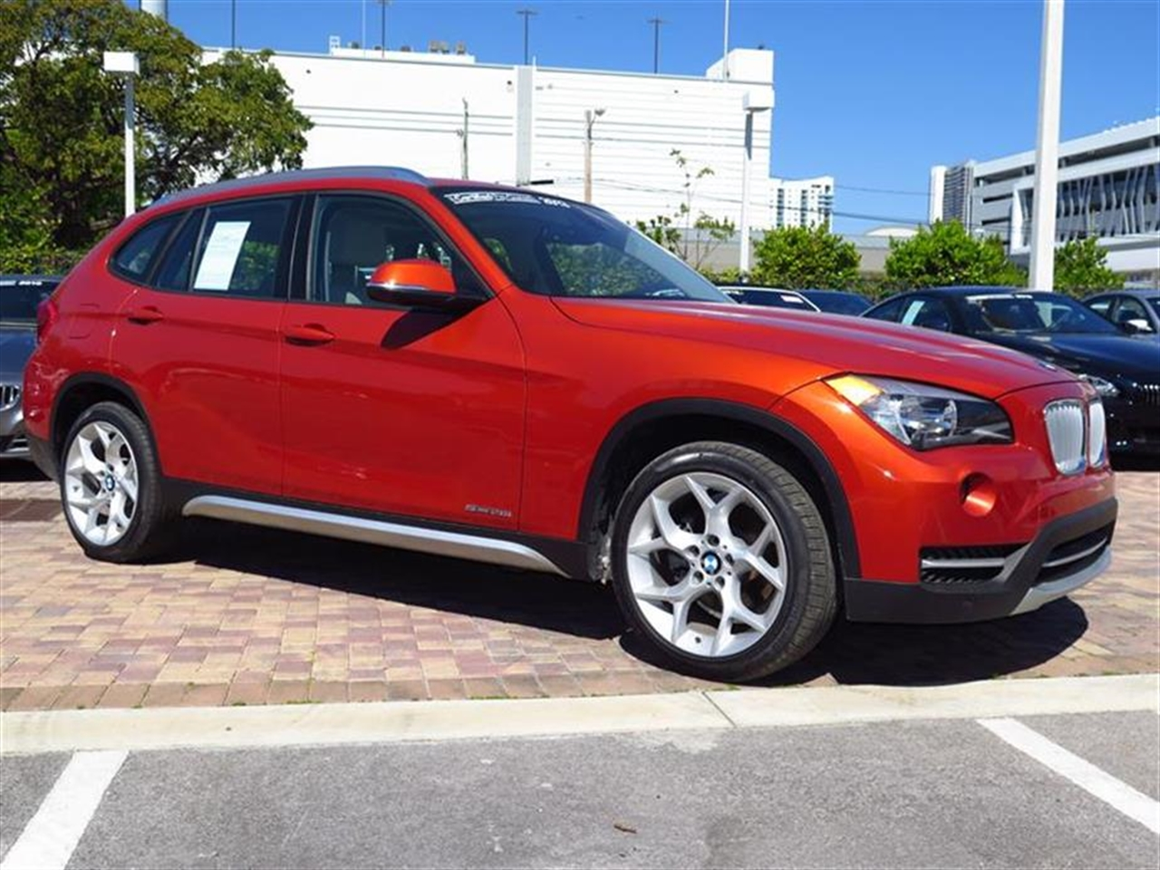 2013 BMW X1 RWD 4dr 28i 23296 miles Adjustable front armrest Anti-theft alarm system Automatic c
