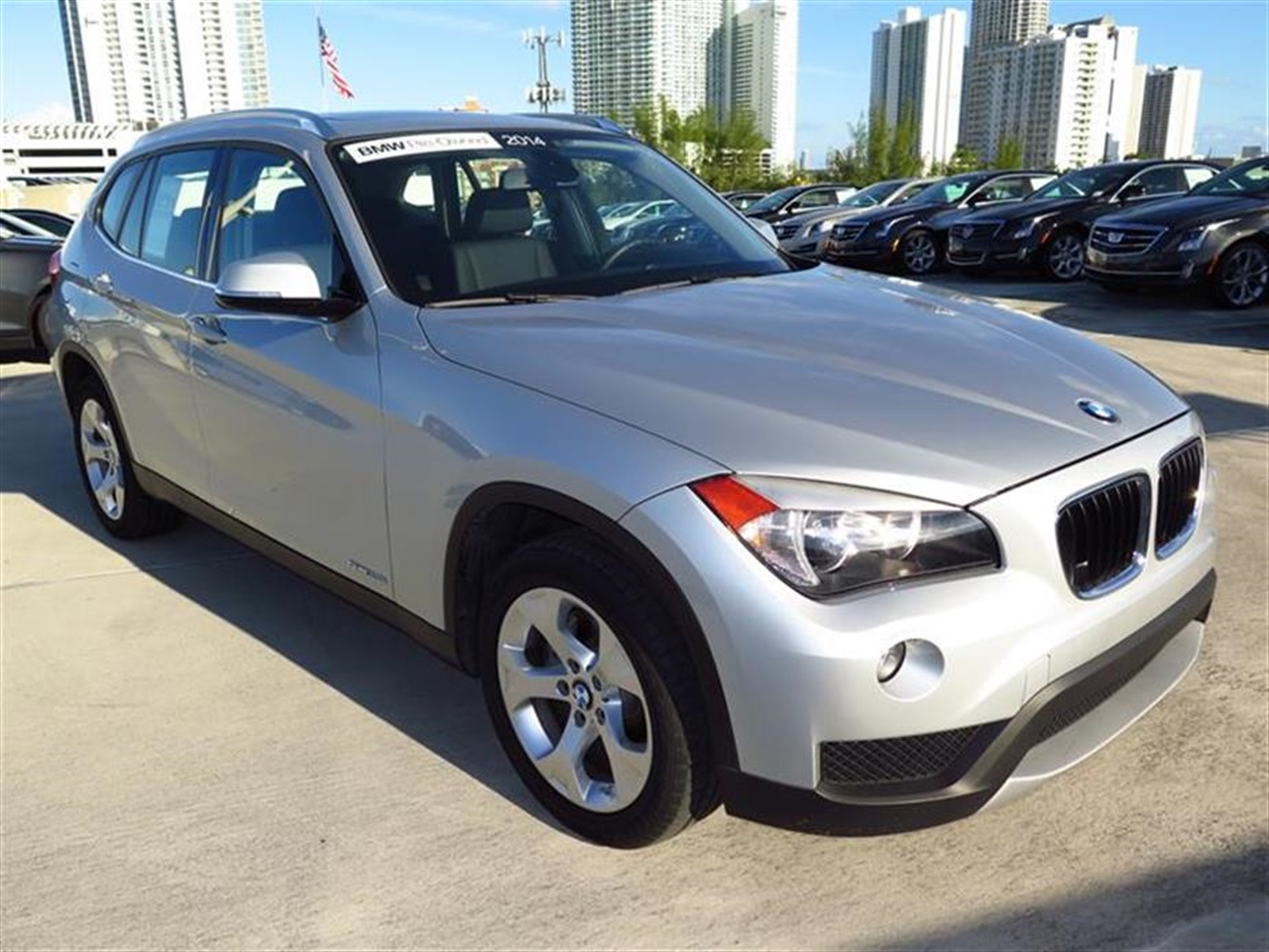2014 BMW X1 RWD 4dr sDrive28i 10889 miles 2 Seatback Storage Pockets 3 12V DC Power Outlets LEA