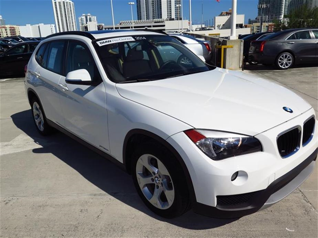 2014 BMW X1 RWD 4dr sDrive28i 10155 miles 2 Seatback Storage Pockets 3 12V DC Power Outlets LEAT