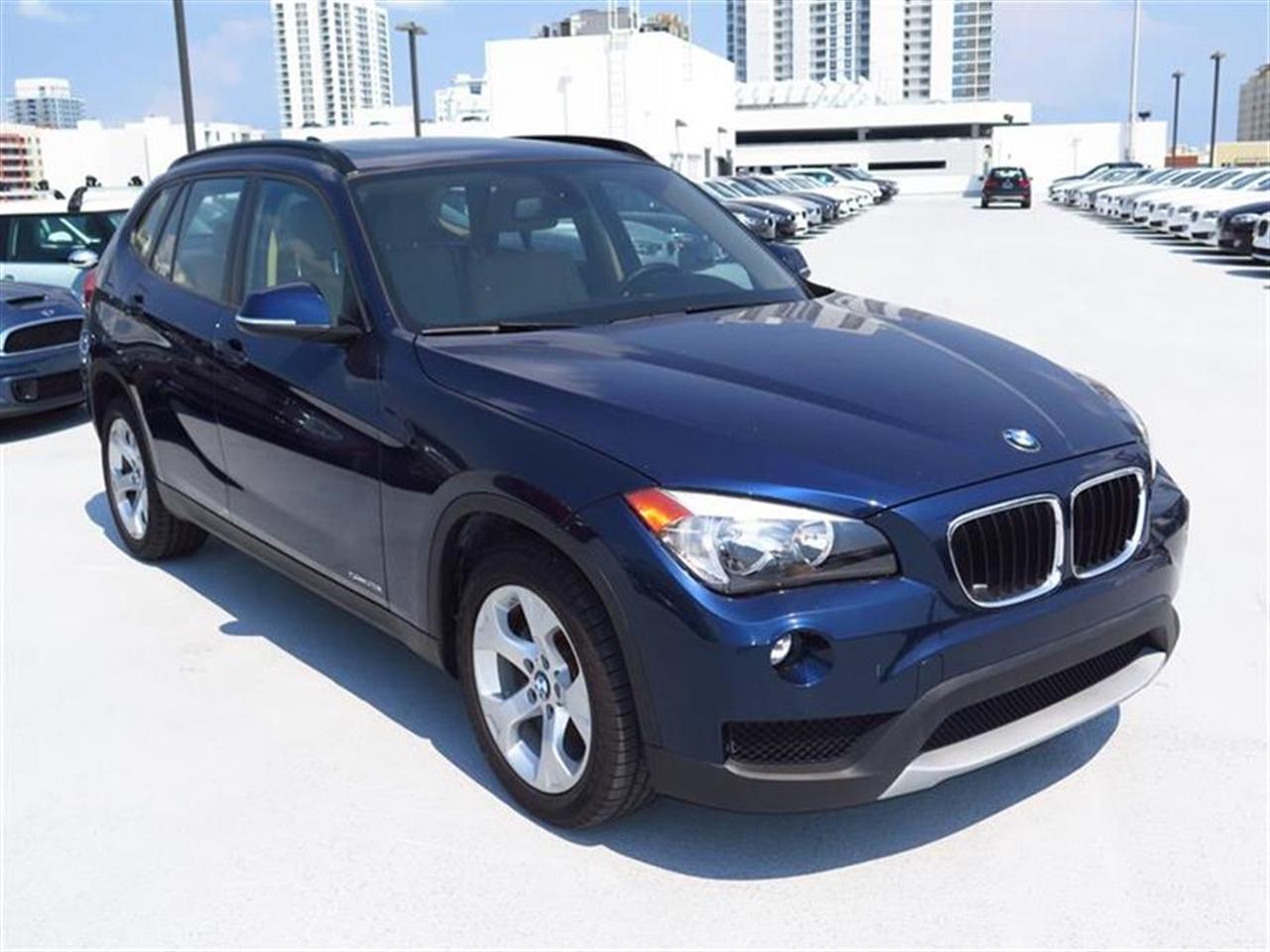 2014 BMW X1 RWD 4dr sDrive28i 10757 miles VIN WBAVM1C55EVW49629