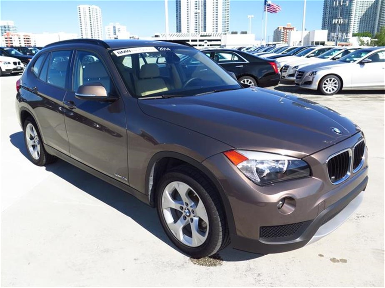 2014 BMW X1 RWD 4dr sDrive28i 12213 miles 2 Seatback Storage Pockets 3 12V DC Power Outlets LEAT