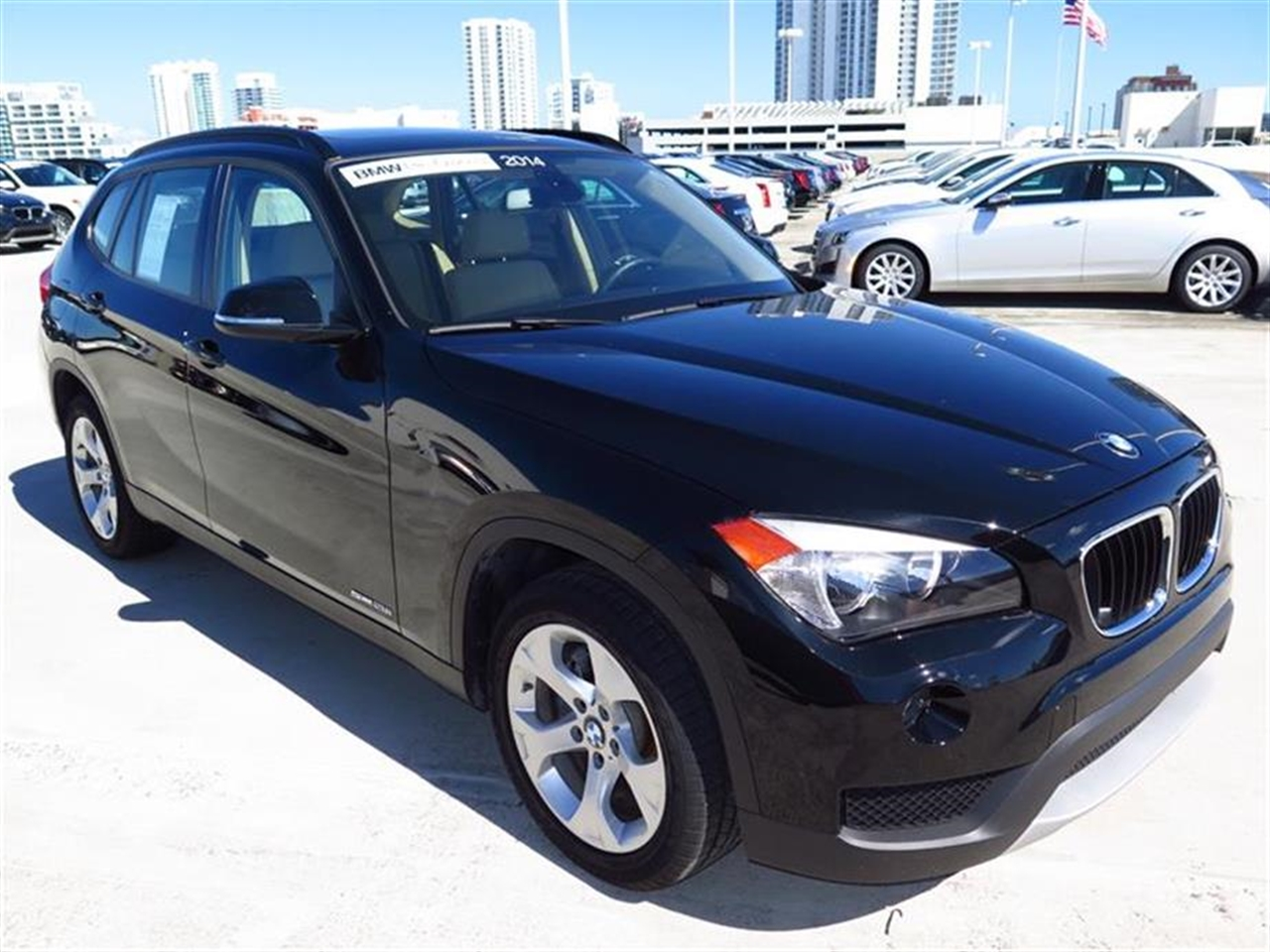 2014 BMW X1 RWD 4dr sDrive28i 10472 miles 2 Seatback Storage Pockets 3 12V DC Power Outlets LEAT