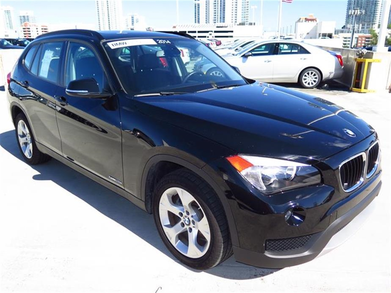 2014 BMW X1 RWD 4dr sDrive28i 12392 miles 2 Seatback Storage Pockets 3 12V DC Power Outlets LEAT