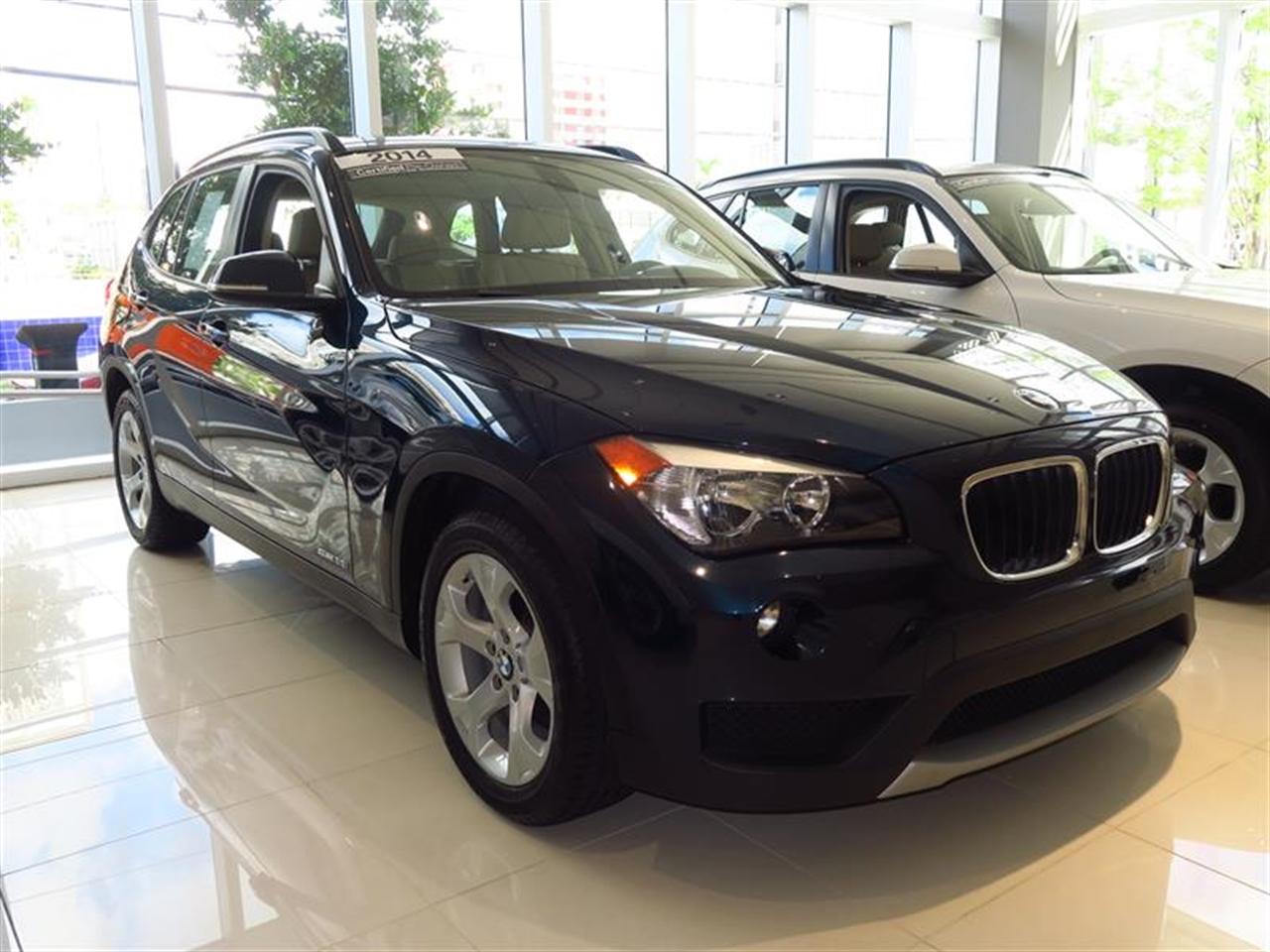 2014 BMW X1 RWD 4dr sDrive28i 3605 miles 2 Seatback Storage Pockets 3 12V DC Power Outlets LEATH