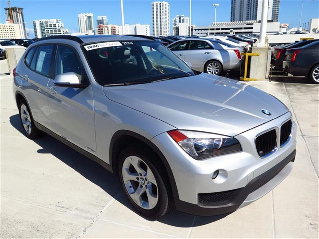 2014 BMW X1 RWD 4dr sDrive28i 11382 miles 2 Seatback Storage Pockets 3 12V DC Power Outlets LEAT