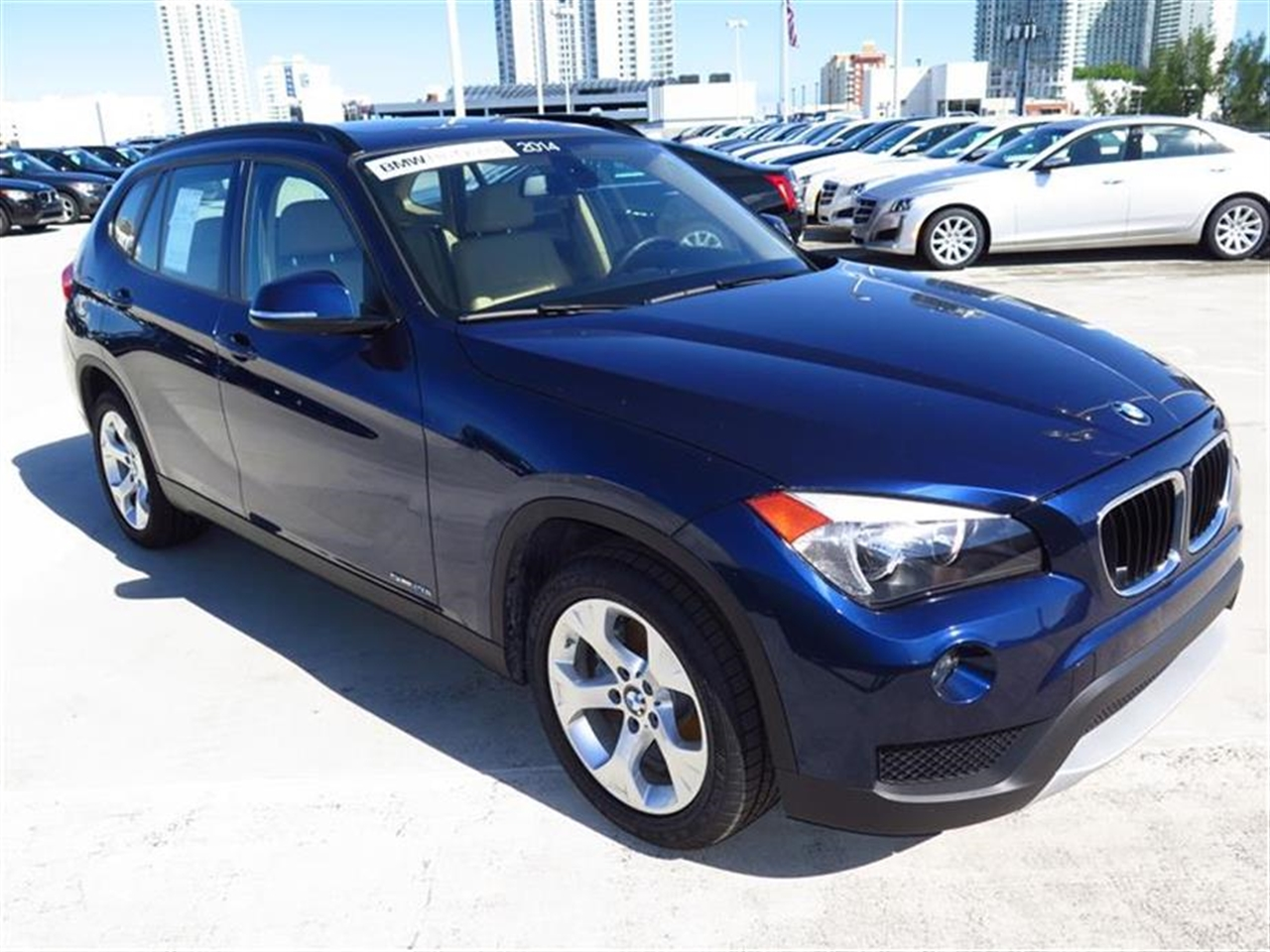 2014 BMW X1 RWD 4dr sDrive28i 4749 miles 2 Seatback Storage Pockets 3 12V DC Power Outlets LEATH