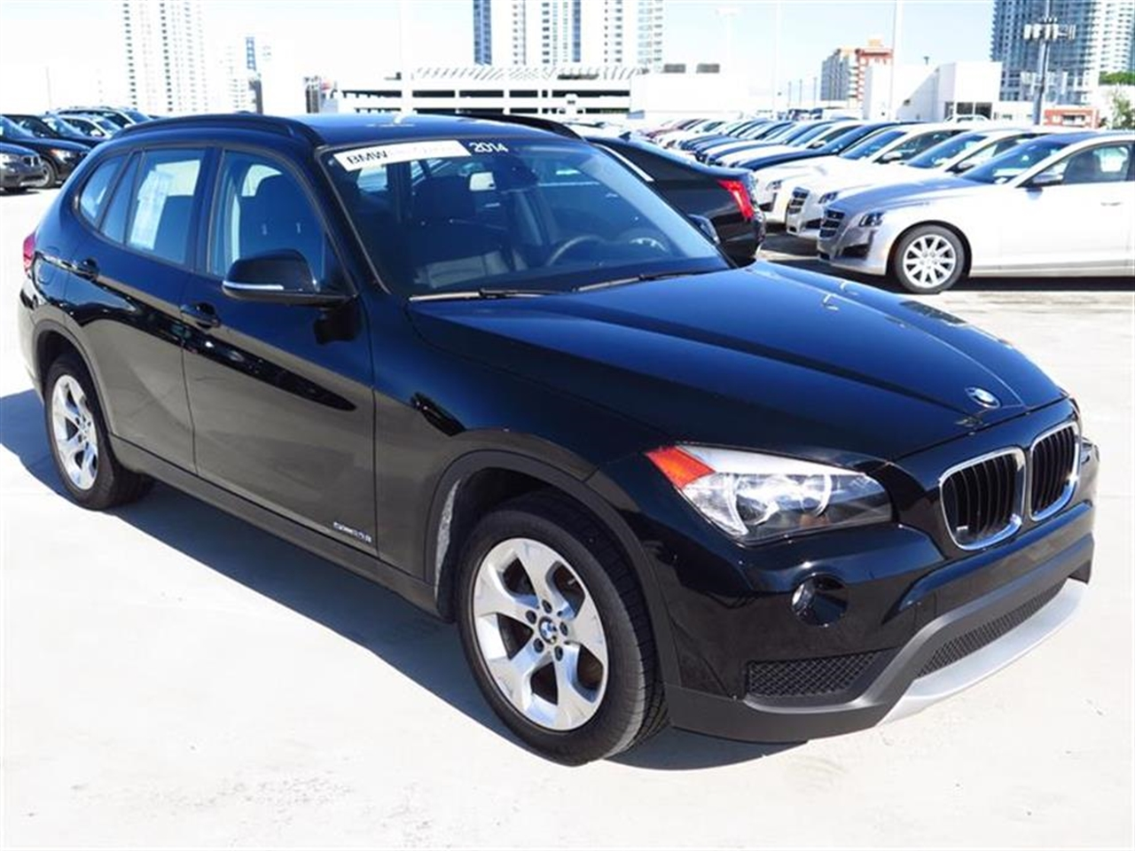 2014 BMW X1 RWD 4dr sDrive28i 8499 miles 2 Seatback Storage Pockets 3 12V DC Power Outlets LEATH