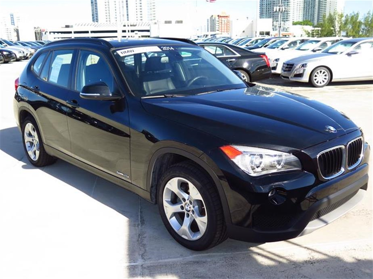 2014 BMW X1 RWD 4dr sDrive28i 10064 miles 2 Seatback Storage Pockets 3 12V DC Power Outlets LEA