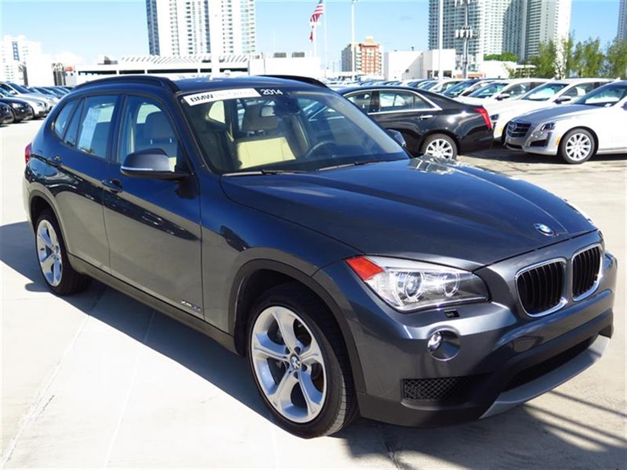 2014 BMW X1 AWD 4dr xDrive35i 10643 miles 2 Seatback Storage Pockets 3 12V DC Power Outlets LEA