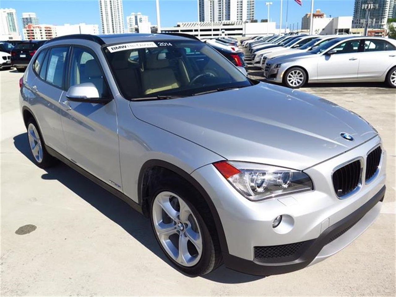 2014 BMW X1 AWD 4dr xDrive35i 8542 miles 2 Seatback Storage Pockets 3 12V DC Power Outlets LEAT