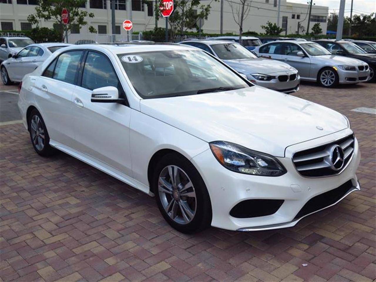 2014 Mercedes E-CLASS 4dr Sdn E350 Sport RWD 31769 miles 2 Seatback Storage Pockets 3 12V DC Pow