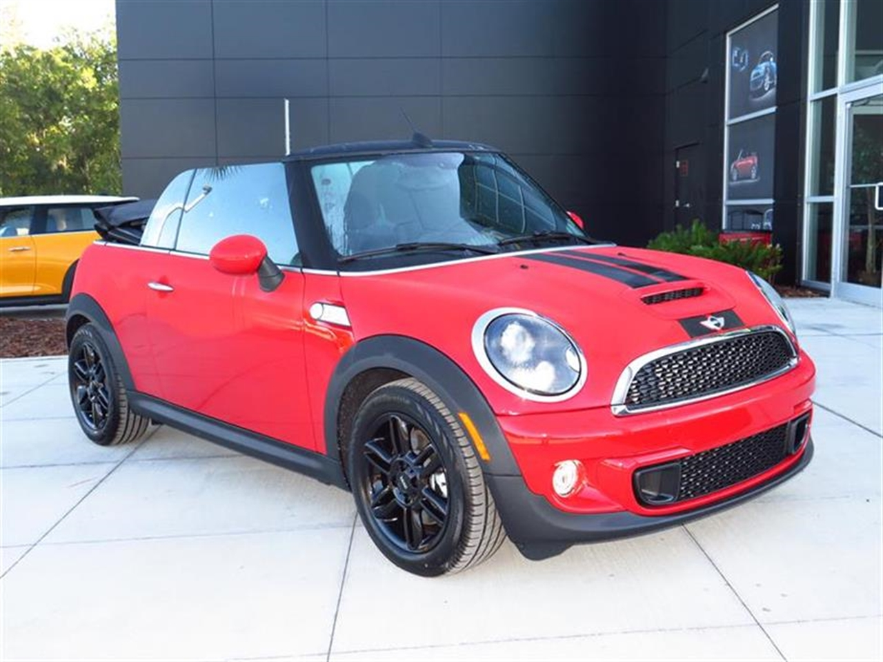 2015 MINI COOPER CONVERTIBLE 2dr S 0 miles 2 12V DC Power Outlets 2 Seatback Storage Pockets 4 P