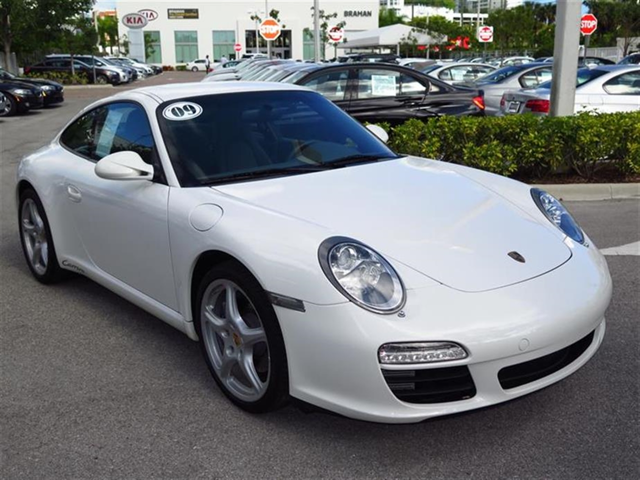 2009 PORSCHE 911 2dr Cpe Carrera 8187 miles 2  2 Seating 3-spoke leather-wrapped tilttelescopic