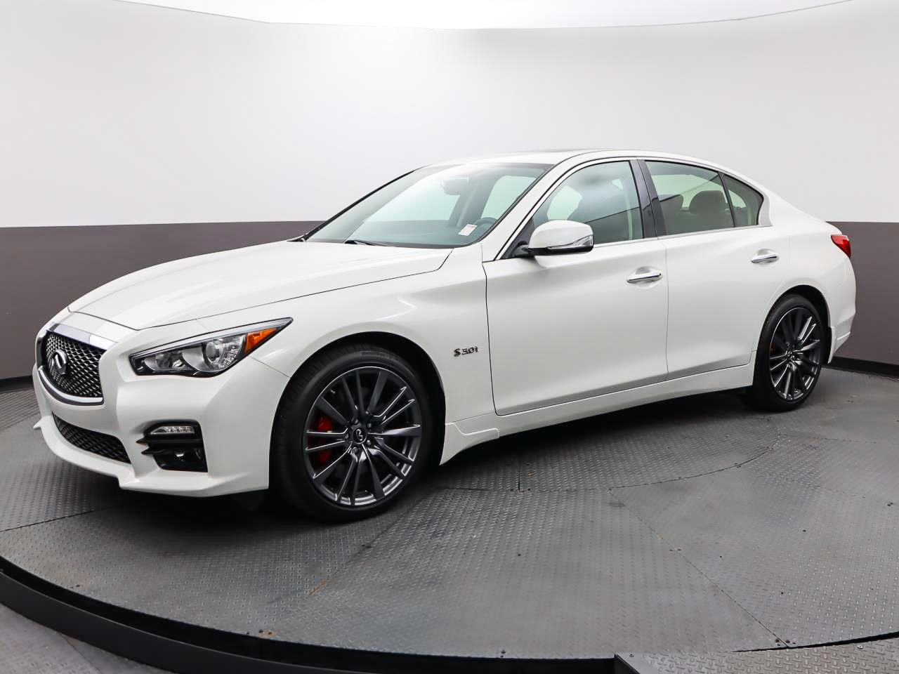 Used INFINITI Q50 2017 WEST PALM RED SPORT 400